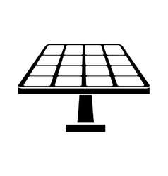 Isolated solar panel design vector