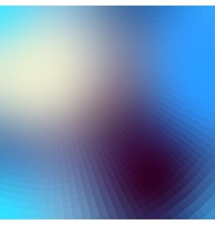 The blur effect gradually turning into faceted vector