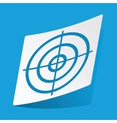 Aim sticker vector