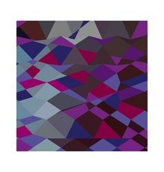 Deep magenta abstract low polygon background vector
