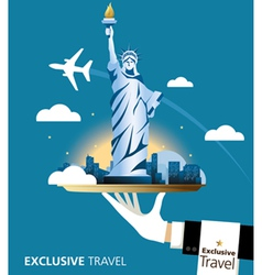 Exclusive New York vector image vector image