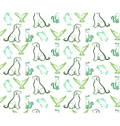 Pet Pattern vector image