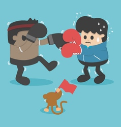 Boxing lose weight vector