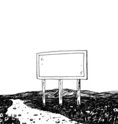 bigboard vector image vector image