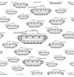 contour tank pattern vector image vector image