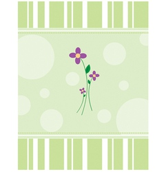 Purpleflowers vector