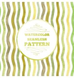 Watercolor waves vector image