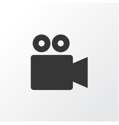 Video conversation icon symbol premium quality vector