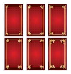 Chinese frame2 vector