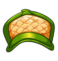 A green hat vector