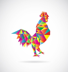Chicken abstract vector