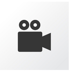 Video conversation icon symbol premium quality vector