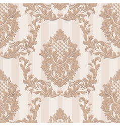 Vintage luxury baroque card vector