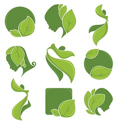 Eco collection vector