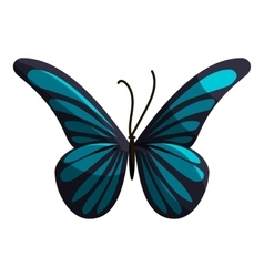 Small butterfly icon cartoon style vector
