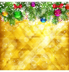 Stars golden background and place for your text vector image