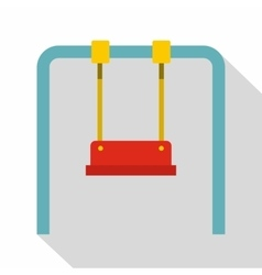 Swing icon flat style vector image vector image