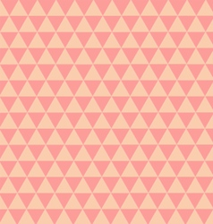 Triangles pastel Pattern vector image vector image