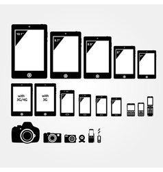 Mobile electronics vector