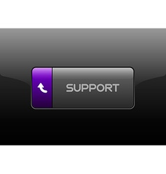 Support button vector