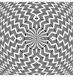 Abstract rotation pattern vector image vector image
