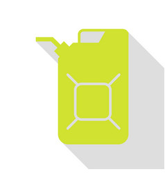 Jerrycan oil sign jerry can oil sign pear icon vector
