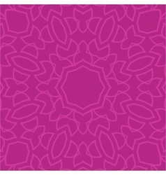 Seamless pink paisley background vector image