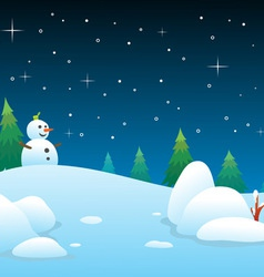 Winter backgrounds vector