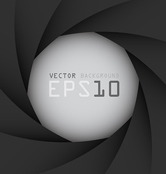 Black camera shutter background eps10 vector