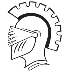 Helmet icon vector