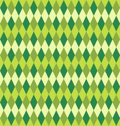 Seamless green abstract mosaic background vector