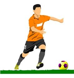 al 0249 soccer 02 vector image