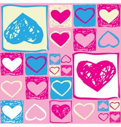 Valentine seamless pattern2 vector image