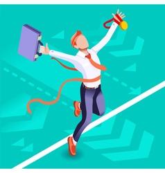 Ambitious business change 55 Job Ambitions concept vector image