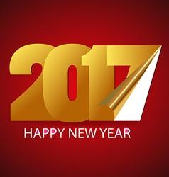 Happy new year 2017 happy holidays background vector