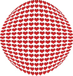 Hearts 01 resize vector image vector image