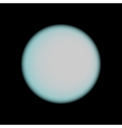 Moon stylish icon vector image