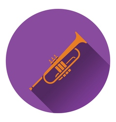 Horn icon vector image