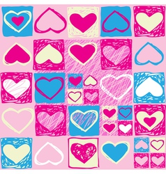 Valentine seamless pattern3 vector image