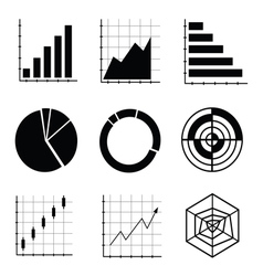 Business Infographic icons vector image