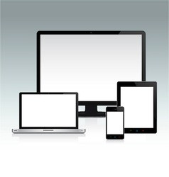 Device Set 2 vector image