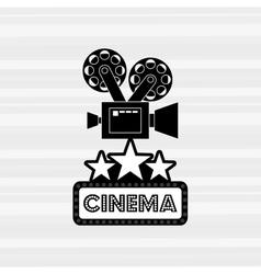 Filmed entertainment design vector