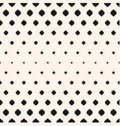 Seamless pattern with halftone effect vertical vector
