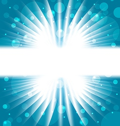 Abstract background with sunbeam vector image