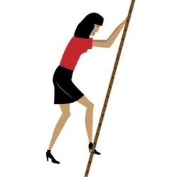 Climbing the ladder vector