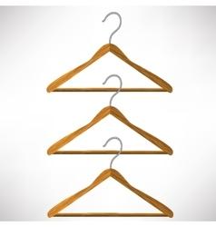 Coat hangers vector
