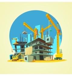 Construction Cartoon vector image