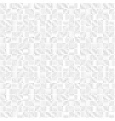 lines in the form of a square vector image vector image