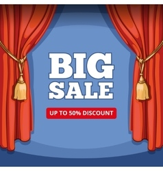 Big sale special offer background for vector