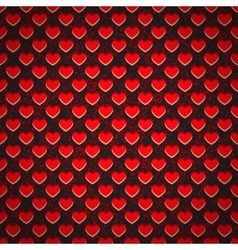 Seamless background perforated plastic sheet in vector image vector image